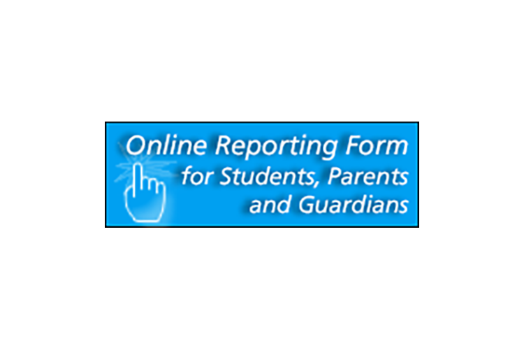 Online Reporting Form